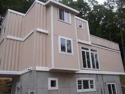 5 Shipping Container Home In Boone, NC. This Is A BIG Tiny. Around 1600  Square Feet. Cost About $100 A Square Foot... Which Prolly Includes All U2026