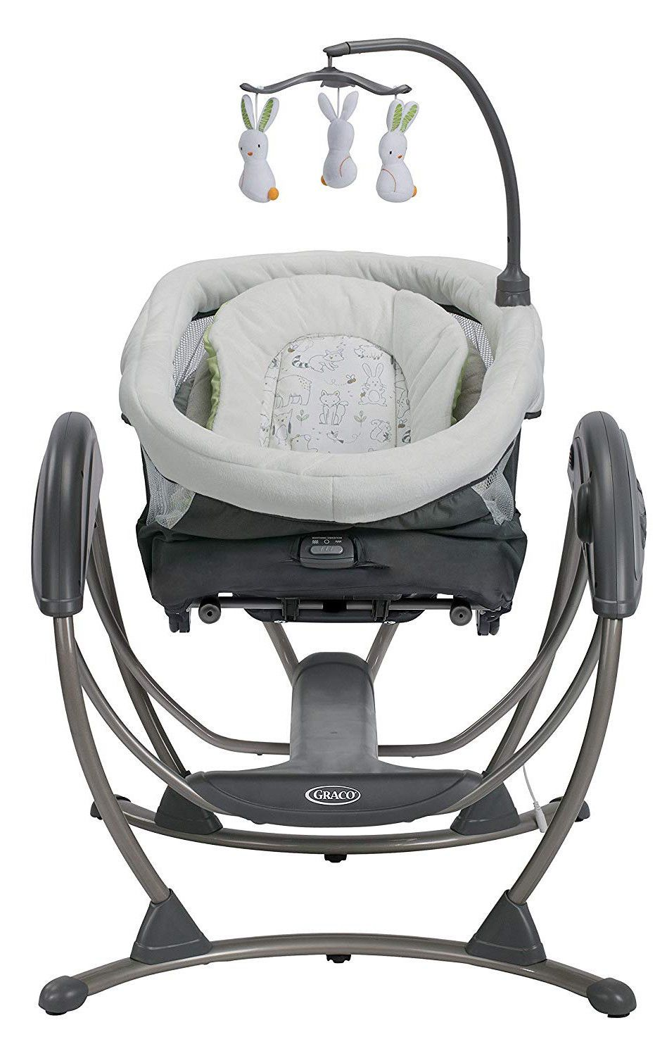 Baby Cradle Graco Details About Graco Baby Dreamglider Gliding Swing Sleeper