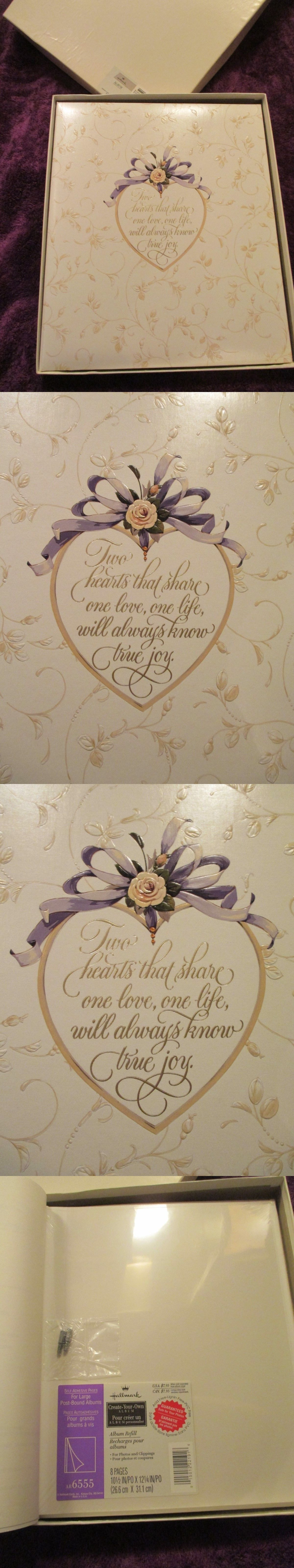 Wedding Po Albums 4X6 | Bnib Beautiful Hallmark Photo Album Wedding Or Anniversary Photo