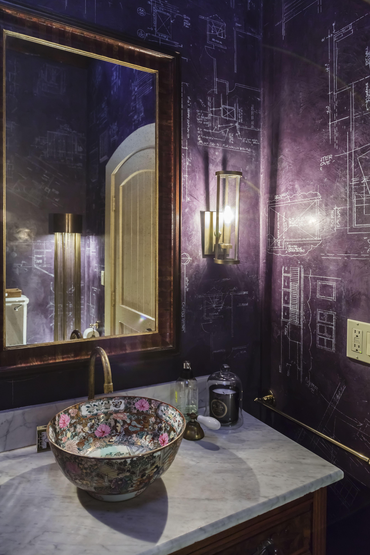 Deep Purple Modern Masters Venetian Plaster With