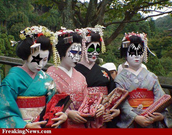 KISS Geisha Girls Costumes | Makeup Brands.Makeup Tips | Awesome ...