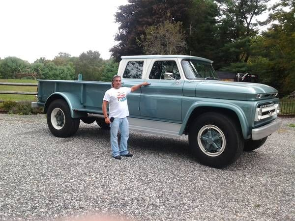 Crew Cab Trucks For Sale >> The Coolest Crew Cab In America Is For Sale This 1966 C60 Truck Is