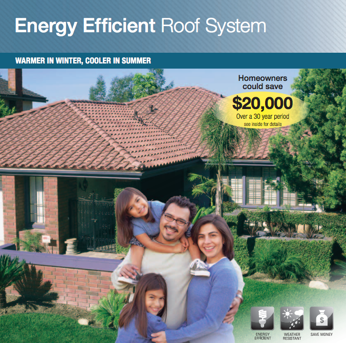 A Family In A Typical Single Family House With A Boral Energy Efficient Cool Roof System Could Save Up To 22 Per Y Cool Roof Roofing Systems Energy Efficiency