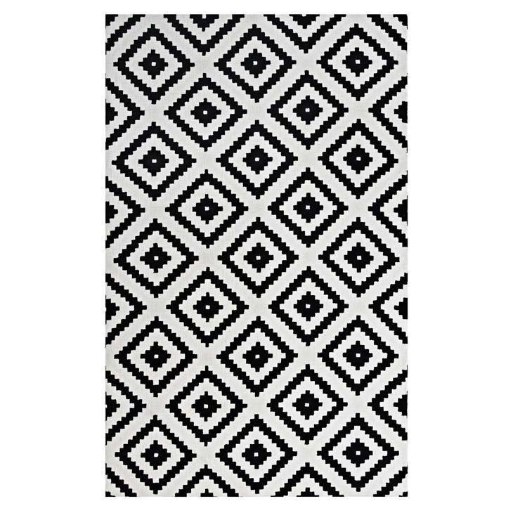 Alita Abstract Diamond Trellis 5x8 Area Rug (With images