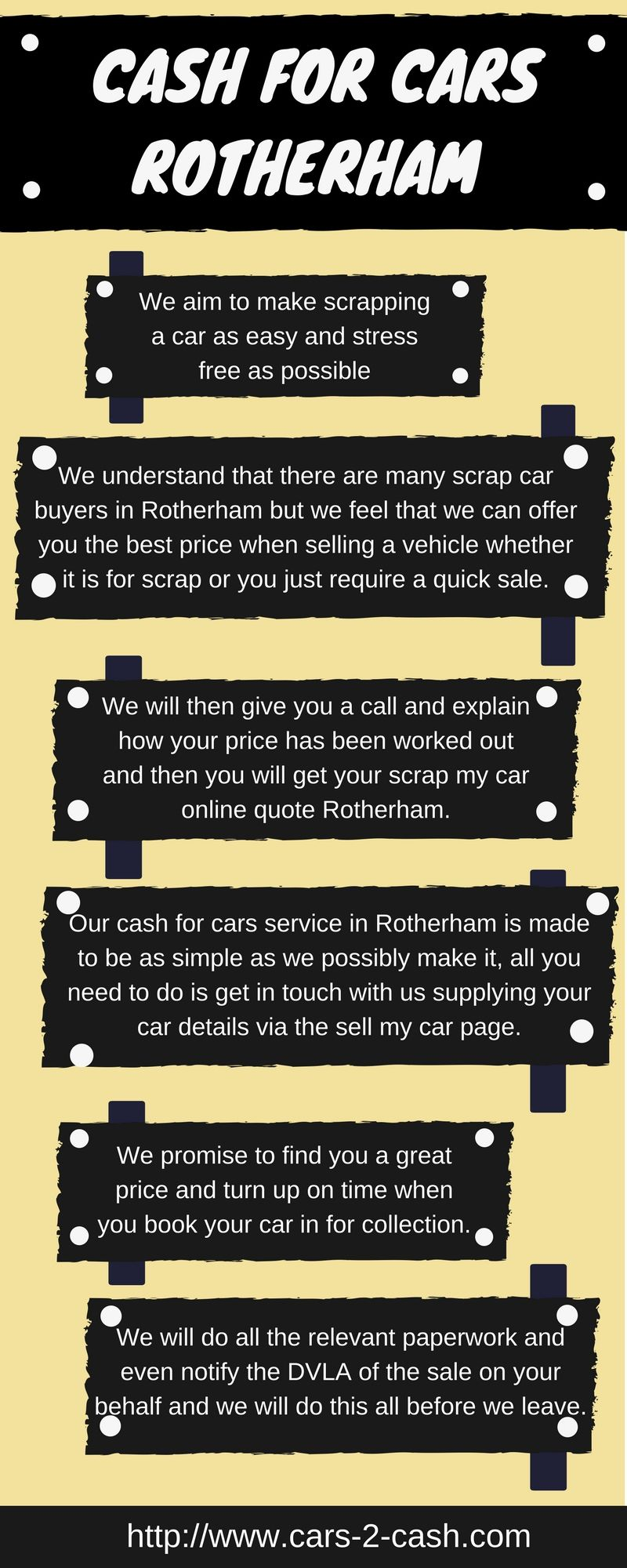 We aim to make scrapping a car as easy and stress free as possible ...