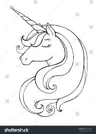 Afbeeldingsresultaat Voor Black And White Unicorn Images Unicorn Painting Unicorn Illustration Unicorn Coloring Pages