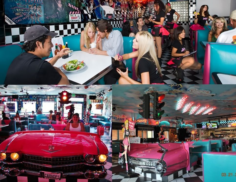 Frisco S Carhop Diner In City Of Industry And Long Beach California