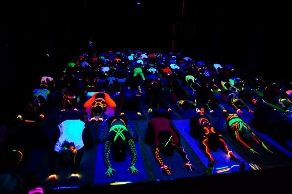 Glow Yoga https://glowproducts.com/ | Yoga party, Yoga for ...