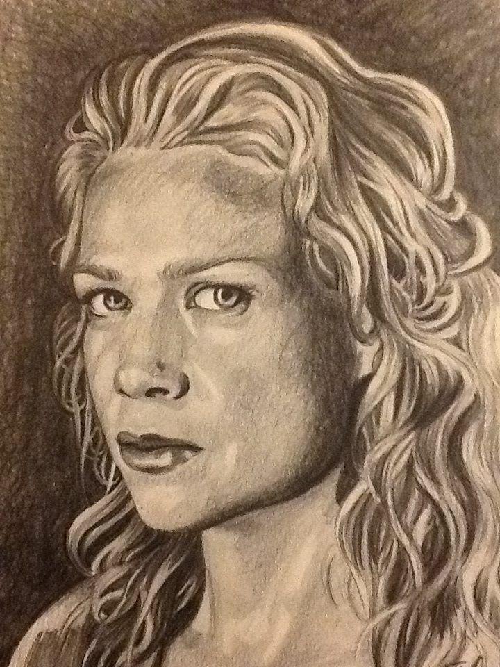Laurie Holden Fan Art. Andrea Walking Dead