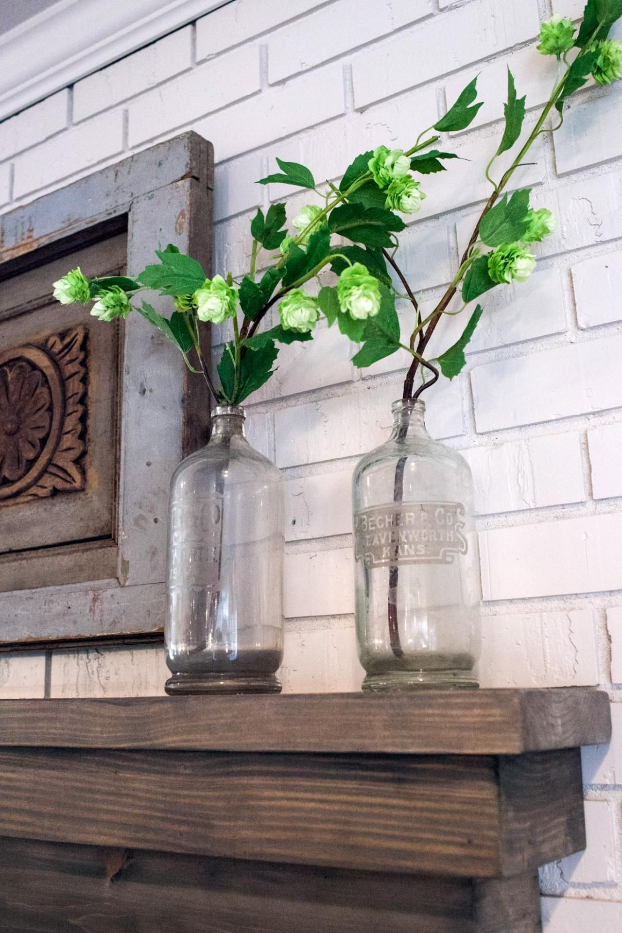 Joanna Gaines Farmhouse Mantel Fixer Upper Midcentury Quotasian Ranch Quot Goes French Country
