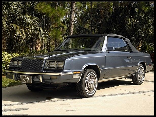 1985 Chrysler Lebaron Convertible Ours Was Red With Black Top