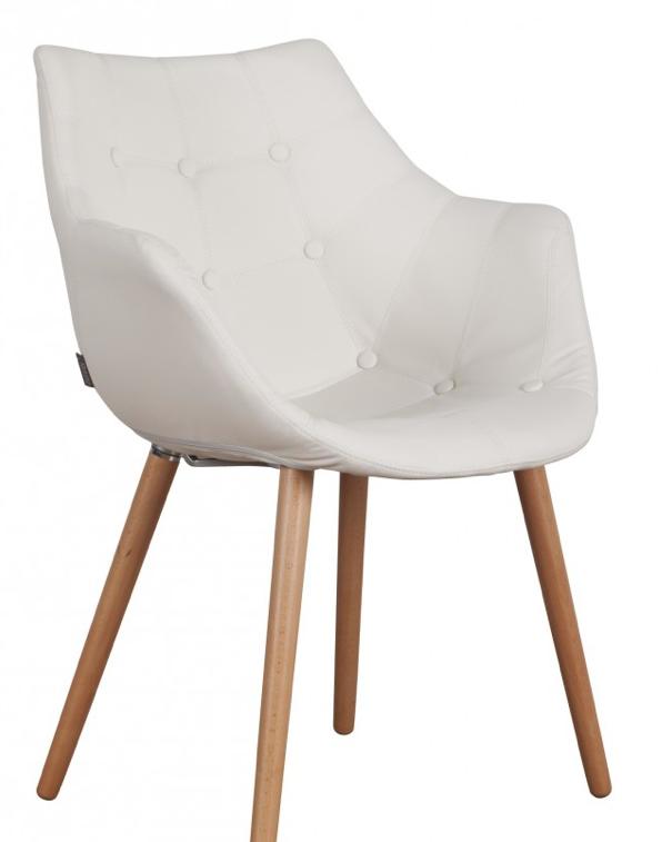 Moderne witte stoelen met armleuning google zoeken 159 for Witte eetkamerstoelen met armleuning