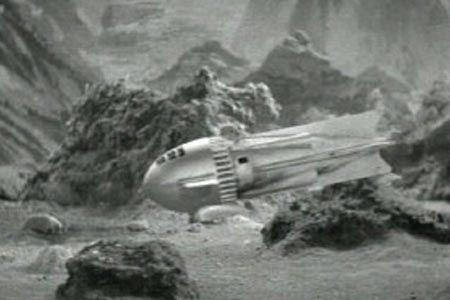 Dr. Zarkov rocket ship: Flash Gordon
