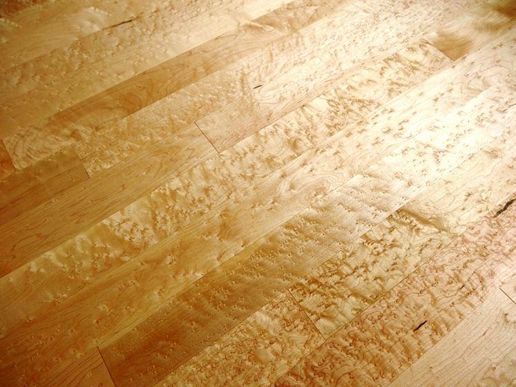 Birdseye maple flooring ideas and inspiration