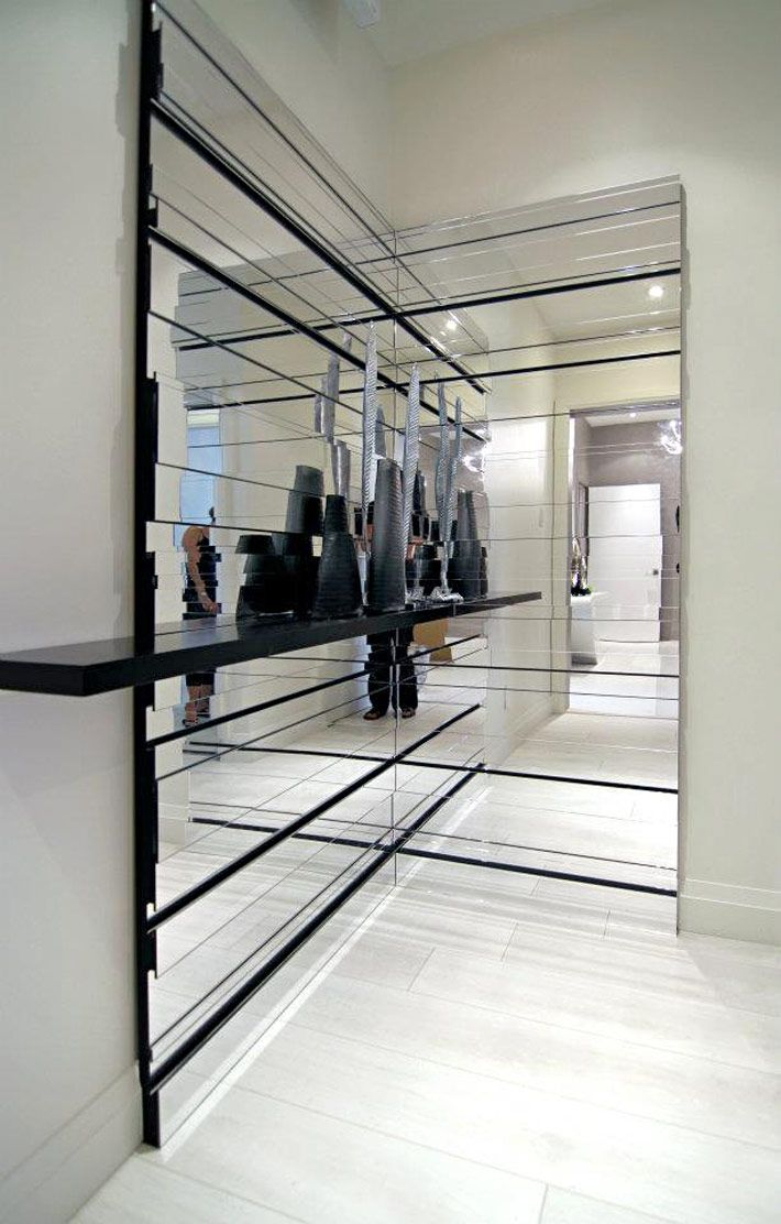 Awesome mirror feature wall images best idea home design feature wall signs condo showroom small spaces pinterest amipublicfo Choice Image
