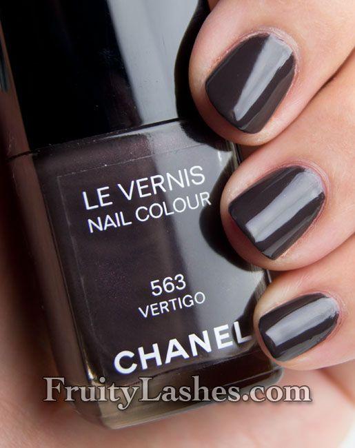 Chanel Fall 2012 Nail Polish 563 Vertigo ...this seasons must have!