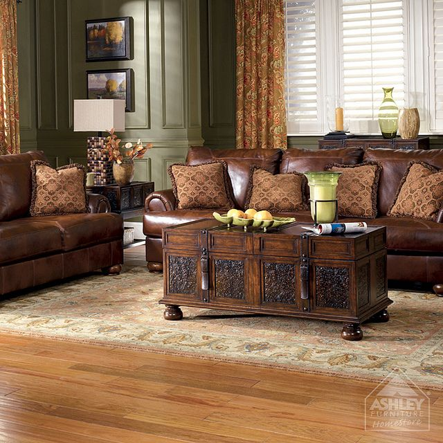 Ashley Furniture HomeStore   Rutherford   Brindle Sofa U0026 Loveseat | Flickr    Photo Sharing!