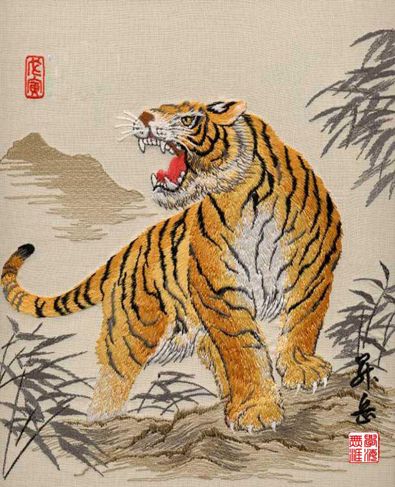 12 chinese zodiac animals the tiger chinese art chinese zodiac animals the tiger buycottarizona