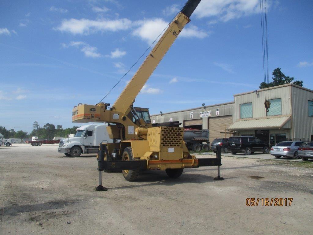 Grove RT515 67381 Crane for sale in Houston TX USA https