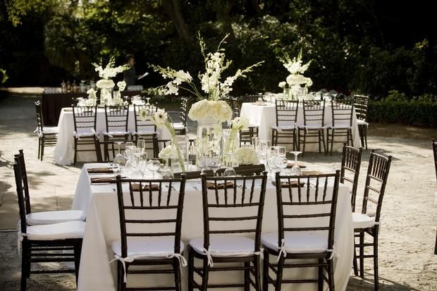 Mahogany Chiavari Chairs Wedding