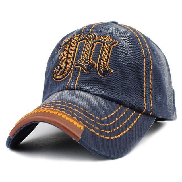 42d38ba6eee Man Woman JM Baseball Cap Bone Baseball Hats Caps Hip Hop Casual Fitted  Snapback Hat Gorras Hombre Cappello