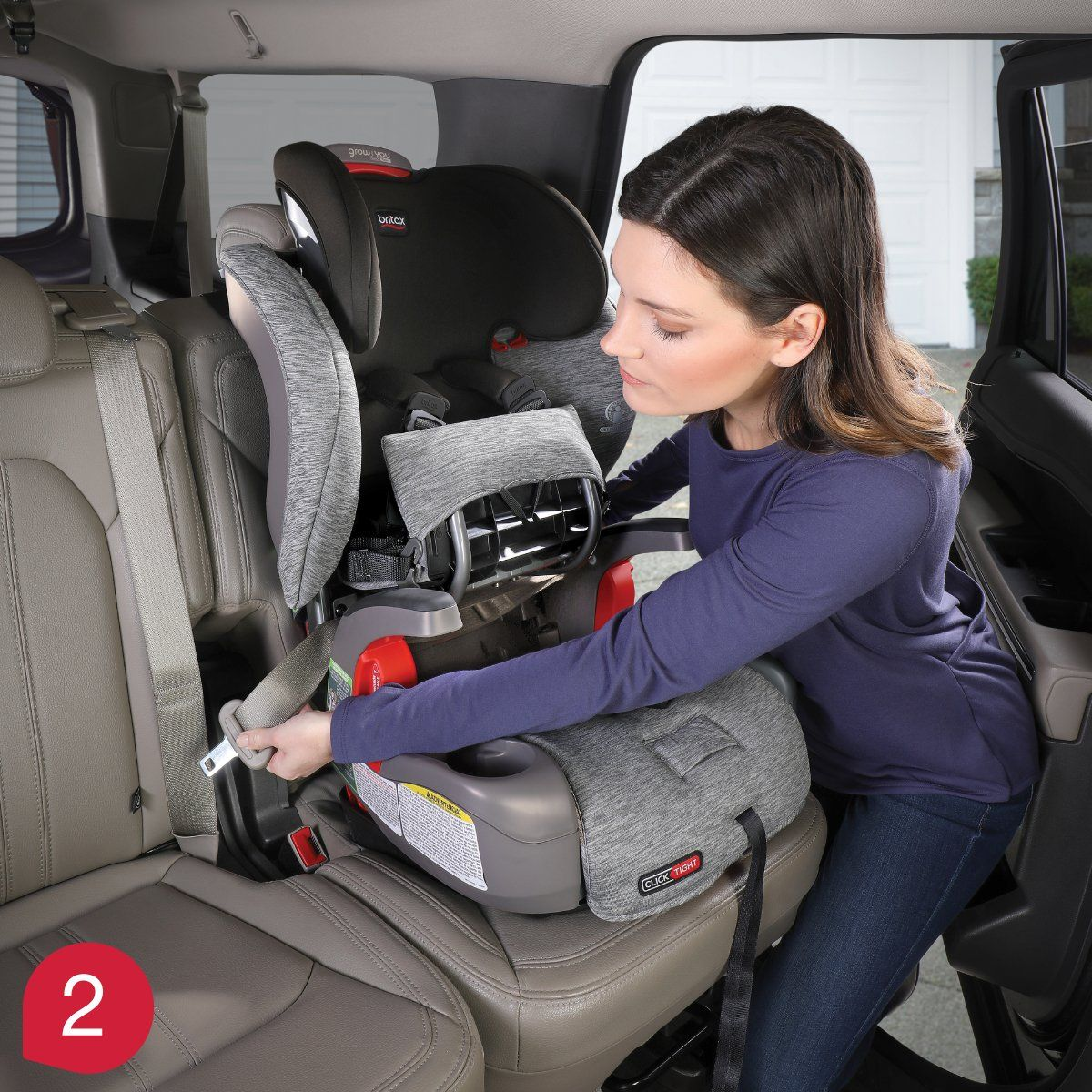 Britax Clicktight Installation System Harness 2 Booster Car Seats Product Knowledge Article In 2020 Booster Car Seat Car Seats Safe Car Seats