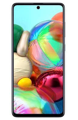 Samsung Galaxy A71 (Prism Crush Black, 8GB RAM, 128GB Storage)