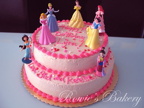 Baby Girl Princess Cake Princess Birthday Cake Disney Birthday