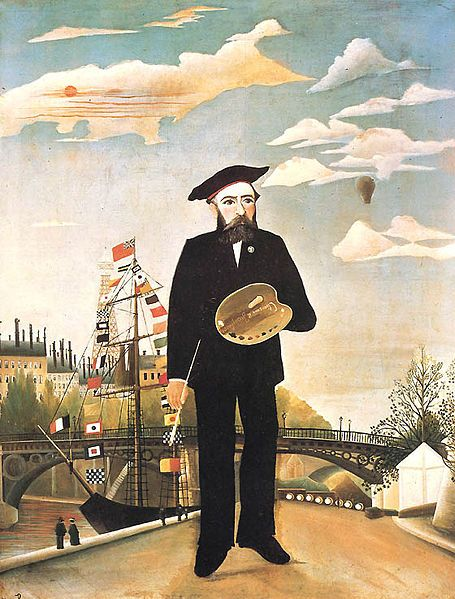 Henri Rousseau Self Portrait (1890)