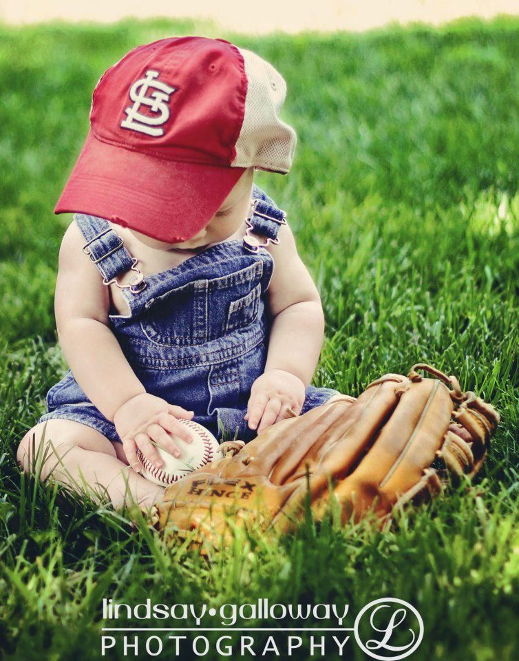 8630ce40354 baby baseball love. Cute photo idea for 6-9 month baby boy shoot ...