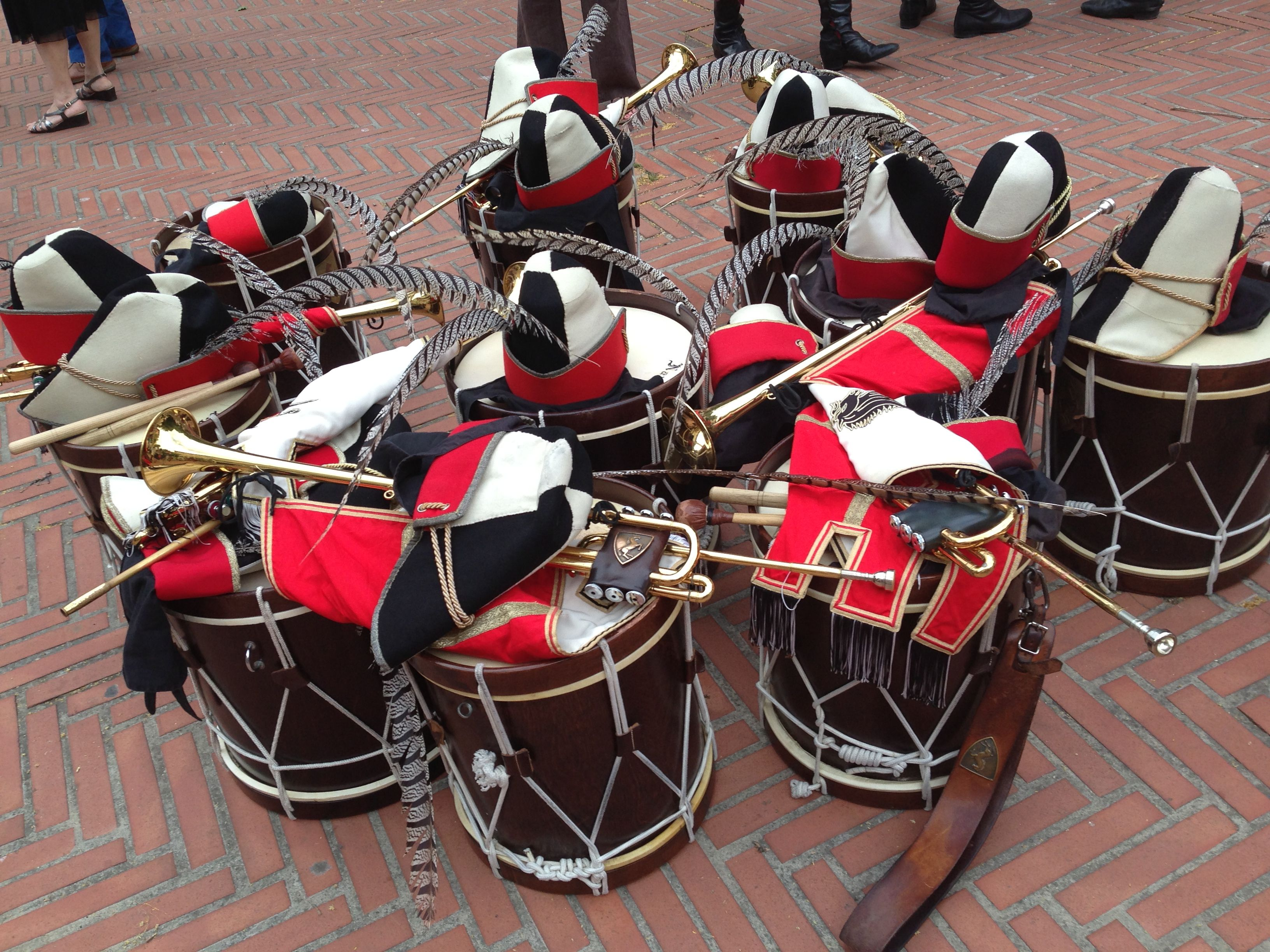 Drums And Trumpets Before The Parade Trumpets Trumpet Drums