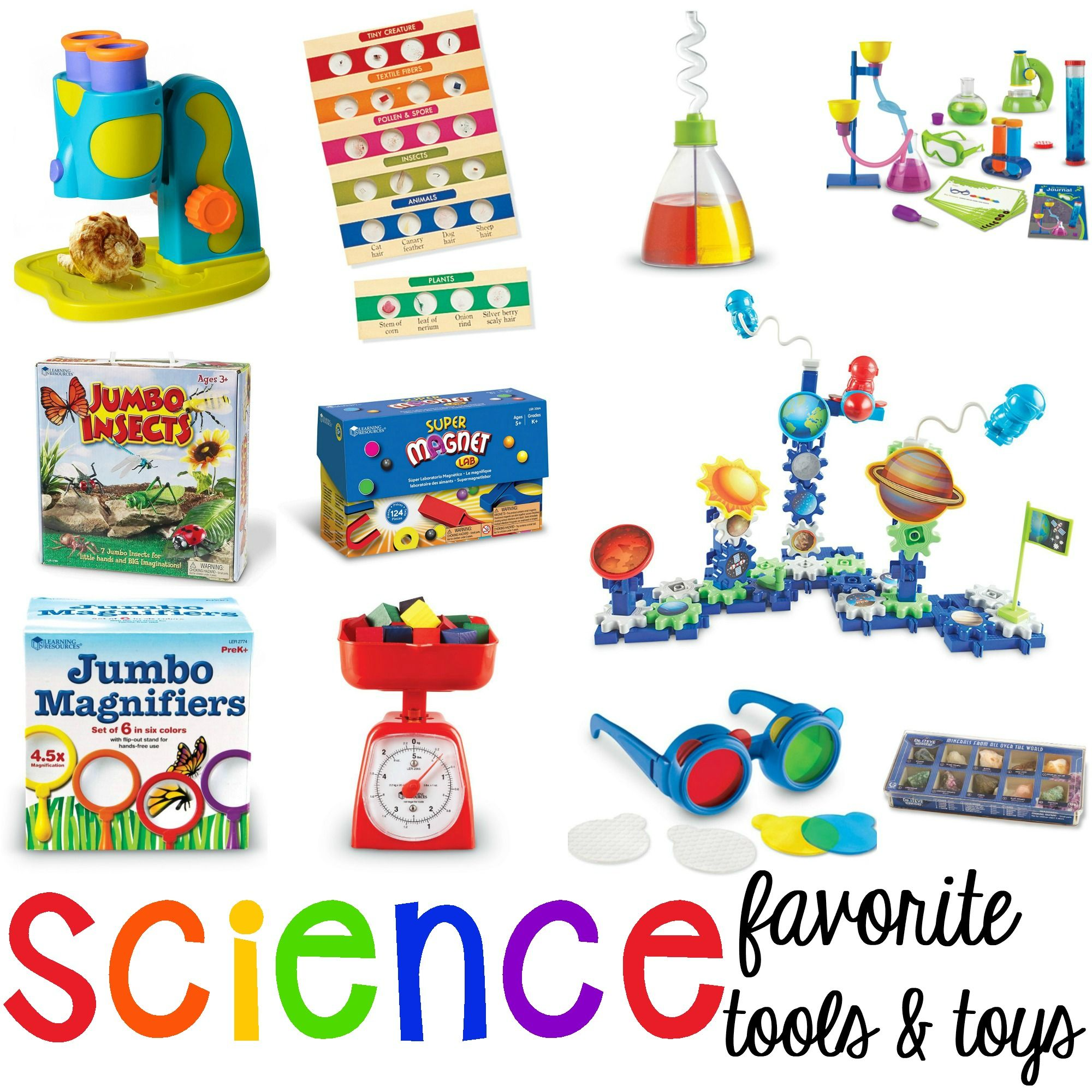 My Favorite Science Tools And Toys For Preschool Pre K