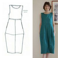 Pattern Reviews> Tessuti> Eva Dress (Eva Dress) #schnittmusterzumkleidernähen