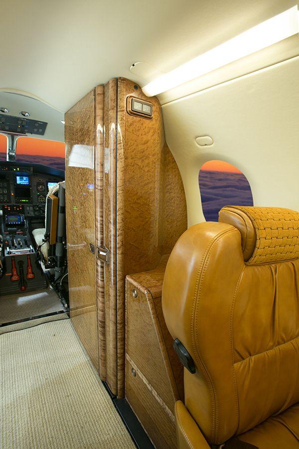 Mountain Aviation Fleet - Cabin interior of the Pilatus PC-12