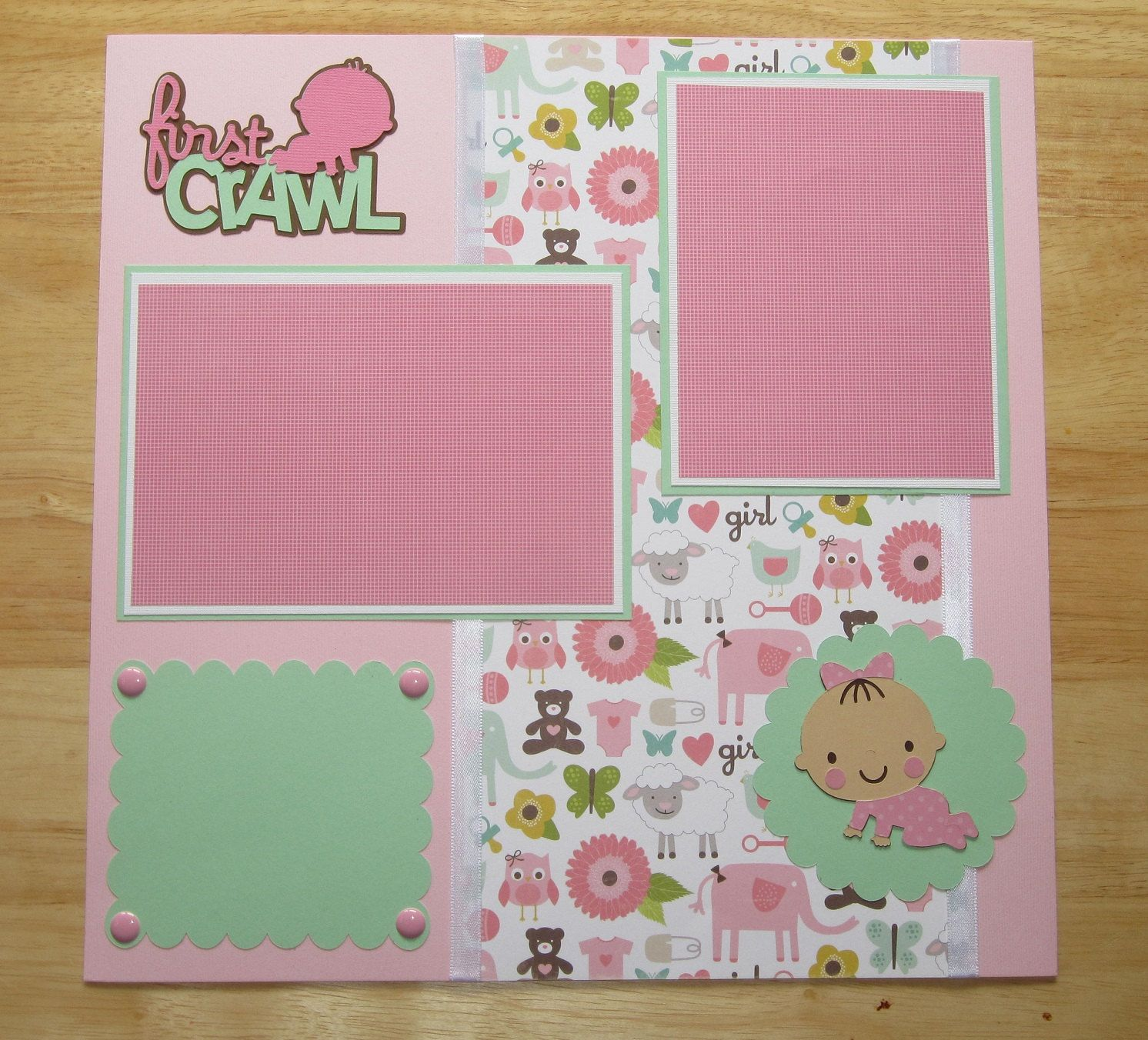 baby firsts scrapbook page - Bing images