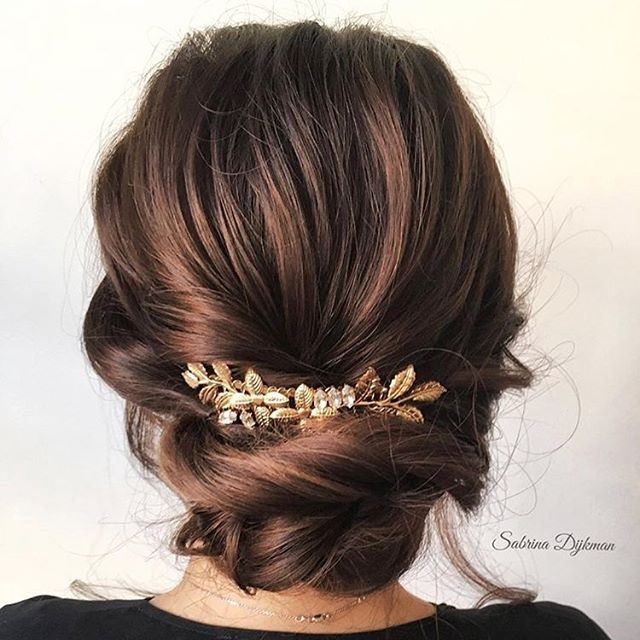 24+ Coiffure mariage brune inspiration