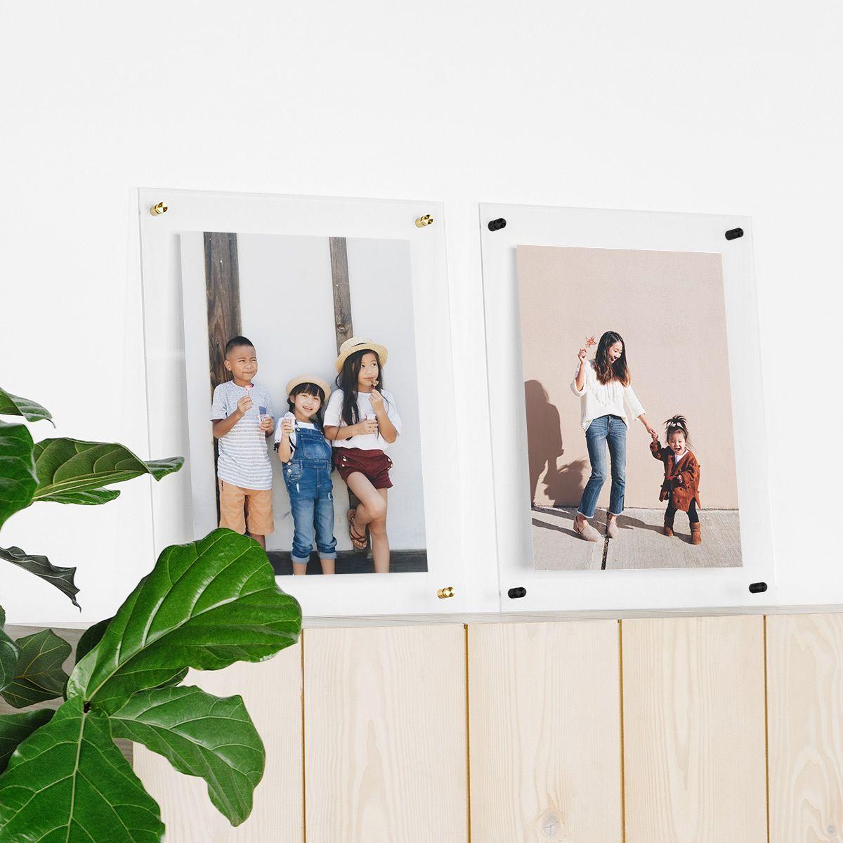 Acrylic Floating Frame By Artifact Uprising Floating Picture Frames Acrylic Picture Frames Floating Frame