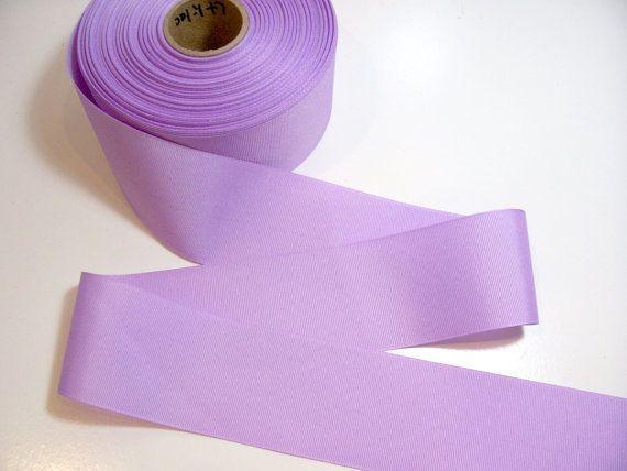 """Periwinkle Grosgrain Ribbon 2 1//4/"""" wide x 50 yards Offray Wide Purple Ribbon"""