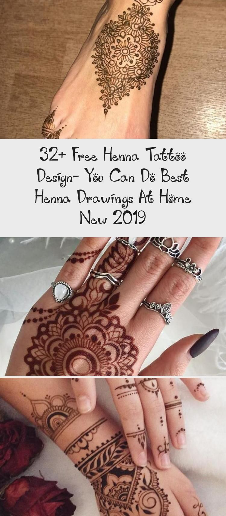 32 Free Henna Tattoo Design You Can Do Best Henna Drawings At Home New 2019 Tattoos And Body Art In 2020 Henna Drawings Henna Tattoo Henna Tattoo Designs