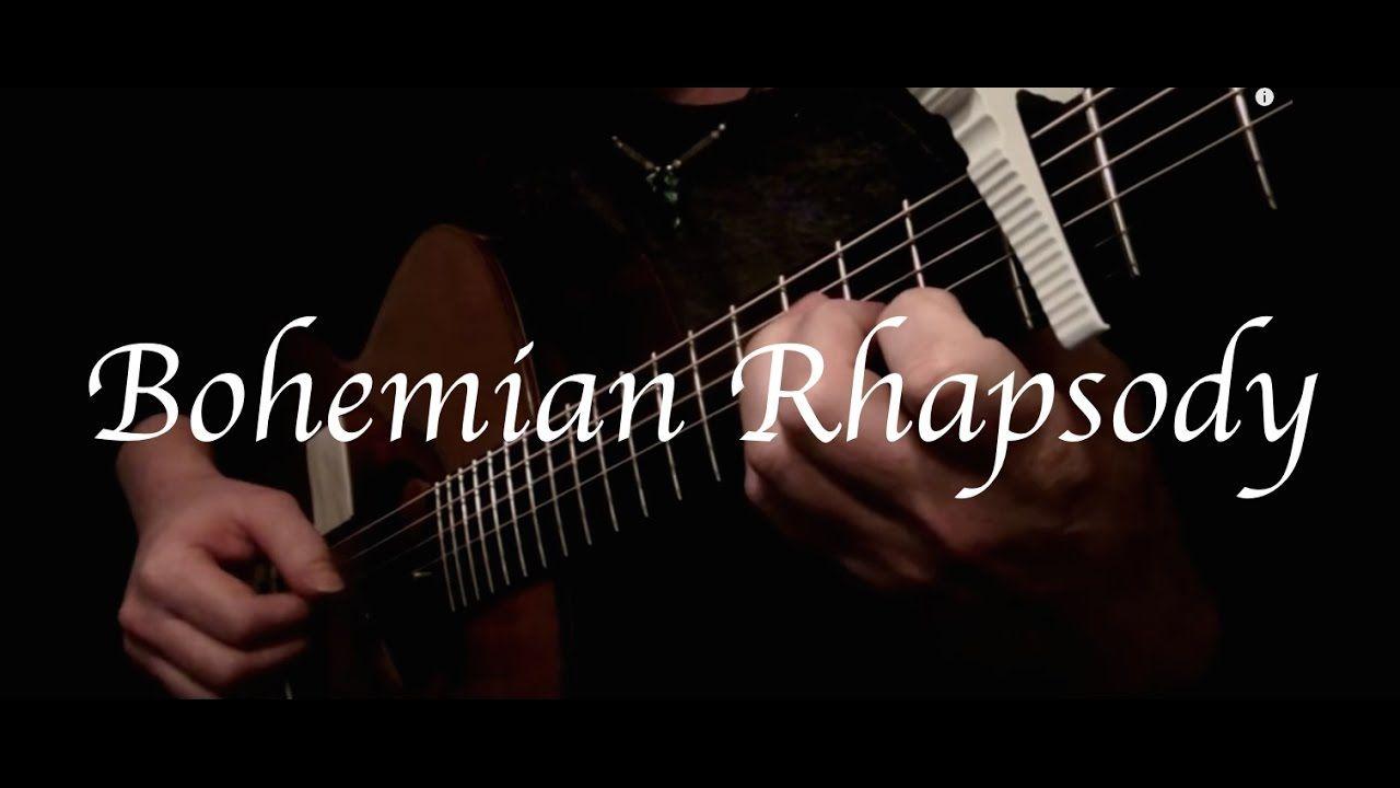 Queen Bohemian Rhapsody Fingerstyle Guitar Fingerstyle Guitar Guitar Lessons Bohemian Rhapsody