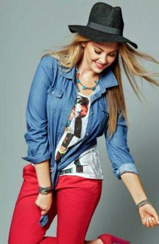 SHEEGO-Jeans-Bluse-Jeanshemd-Gr-48-50-light-blue-840715-Neu