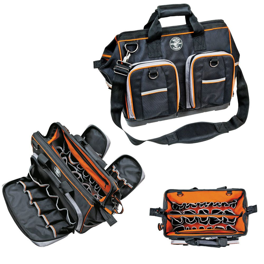 Klein Tools 55417 18 Tradesman Pro Extreme Electricians Organizer Ideal Circuit Breaker Finder The Multitool Of Electrical Work Bag In Home Garden Tool Boxes Belts Storage Ebay