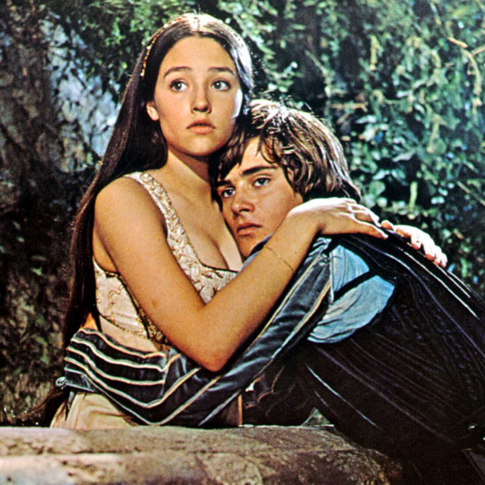 Juliet Capulet Romeo Montague In Romeo And Juliet 1968 Romeo And Juliet Juliet Capulet Romeo Montague