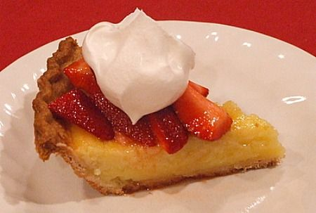 Strawberry Lemon Buttermilk Pie Recipe Recipes Buttermilk Pie Pie Recipes Strawberry Pie