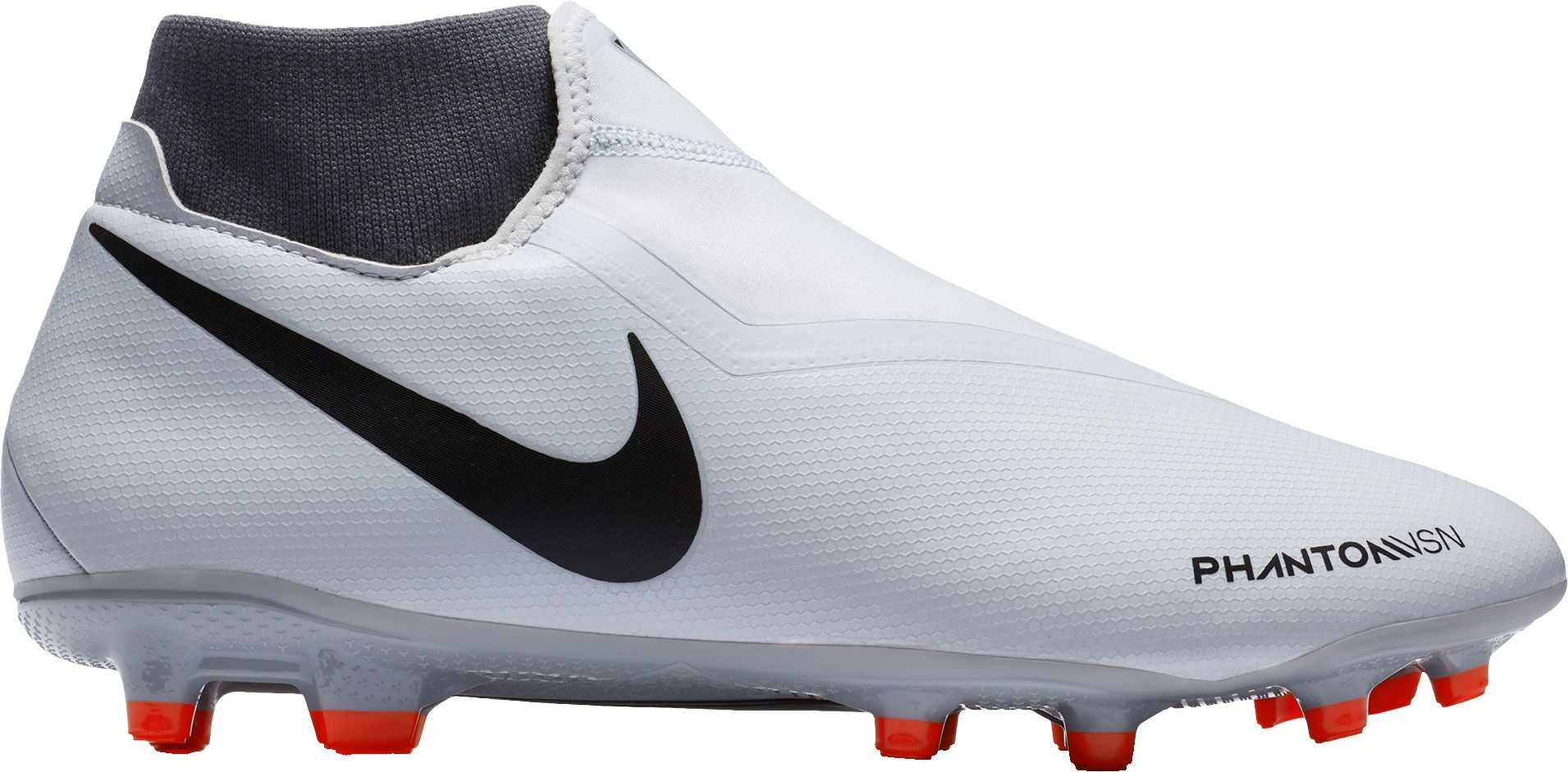 quality design ffc57 beaa4 Nike Phantom Vision Academy Dynamic Fit MG Soccer Cleats, Men s, Size   M10.5 W12, Gray