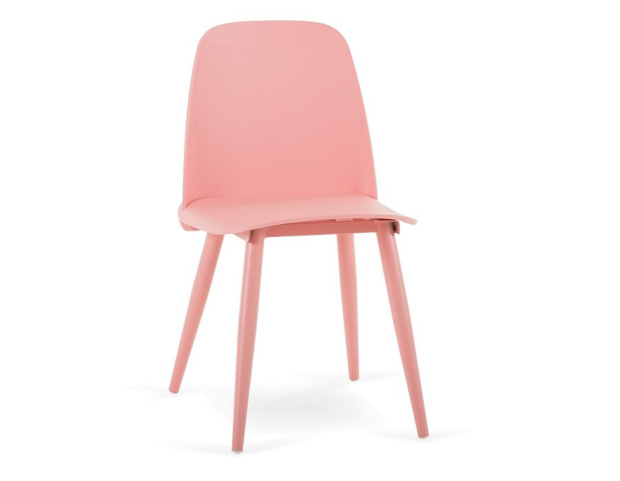 CLOVIS - Dining chair - Pink | Recipes | Pinterest | Dining chairs ...