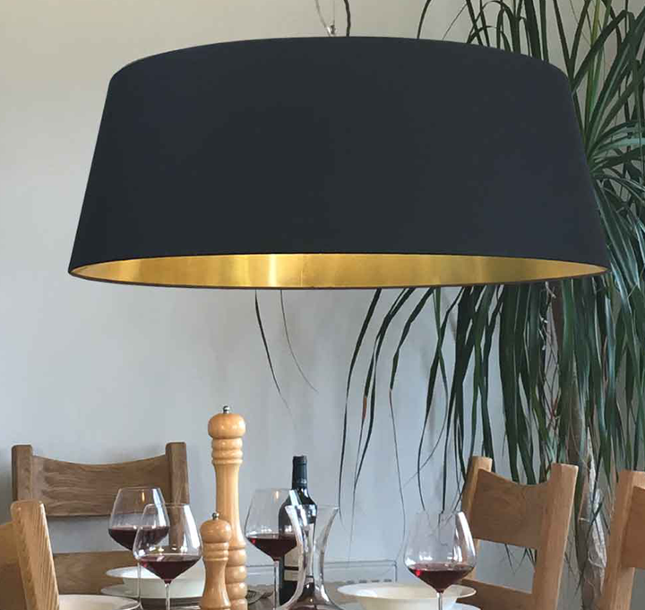 Large Statement Lampshades Are The Latest Lighting Trend And Our Iski Pendant Also Available In White Is The Perfect Exam Modern Lamp Shades Lamp Shade Lamp