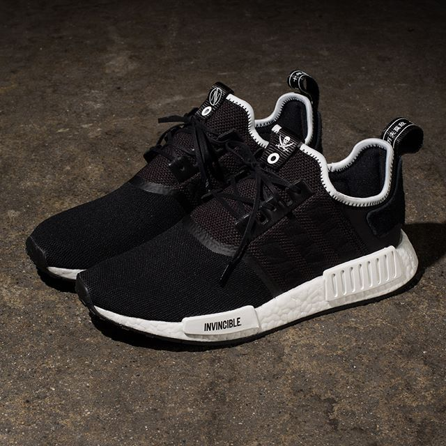 adidas Consortium x Invincible x Neighborhood NMD R1 // Available Friday  12/29 at All Undefeated Chapter Stores and Undefeated.com | sneakers |  Pinterest ...