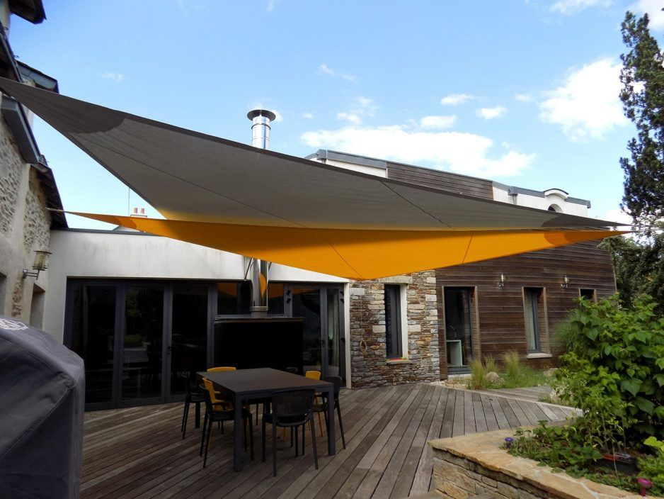 Jardin Voile Ombre Crème Solaire Patio Canopy Triangle Store 90/% UV Block Outdoor