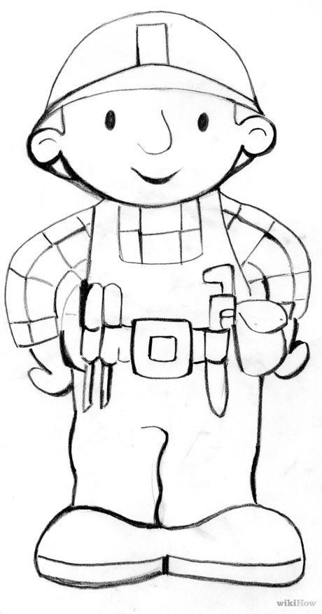 Draw Bob the Builder | Bob the builder birthday | Ebdv 2017, Bob el ...